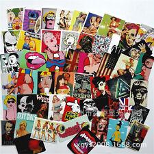 100 Pcs Sticker Bomb Decal Vinyl Roll for Car Skate Skateboard Laptop Luggage AB