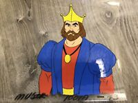 Rare He-Man & Masters of the Universe KING RANDOR Original Animation Cel MOTU