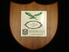 1961 Philadelphia Eagles Alumni Association Plaque – Leo Sugar, LOA