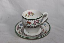 Copeland Spode Chinois Rose Coffee Cup and Saucer No 629599 25