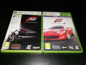 Forza Motorsport 3 & 4 Xbox 360 Racing Game / Games Bundle / Collection