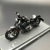New 1/18 Maisto Harley Davidson 2014 Sportster Iron 883 Motorcycle Model Black