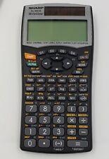 Sharp EL-W516 Solar Scientific Calculator with Cover