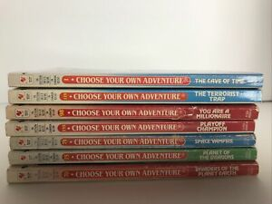 Choose Your Own Adventure Lot of 7 CYOA Series books