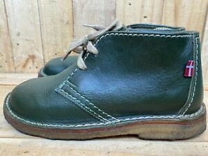Duckfeet Original Danish Green Sjaelland Leather Shoe Sz- EUR 39   US 8.5-9