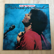"Cliff Richard - Wired For Sound - EMC 3377 - 12"" LP Vinyl Record"