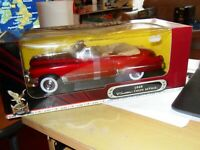 1:18 ROAD SIGNATURE 1949 Cadillac Coupe deVille CONVERTIBLE DIE CAST RED