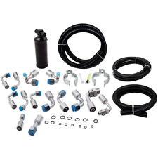 Air Conditioning A/C Hose Kit Universal 134a O-Ring & Fittings Drier & Connector