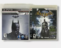 Batman: Arkham Origins - Batman Arkham Asylum  - PlayStation 3 PS3 Bundle Lot