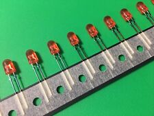 25 Pcs NICHIA  5mm Red LED Through Hole Diffused - ORIGINAL OEM