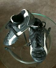 Rawlings Youth Soccer Shoes Size 4 Black All Man Made Materials Made in China