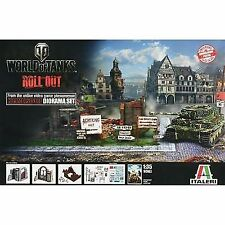 Italeri 510036505 - 1 35 World Of Tanks Diorama-box Himmelsdorf