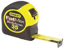 "NEW STANLEY 33-735 1 1/4"" X 35' FOOT FATMAX POWER RETURN TAPE MEASURE RULER SALE"