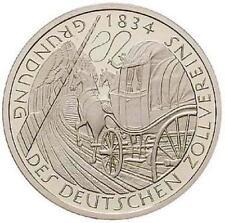 5 DM Gedenkmünze, Deutscher Zollverein