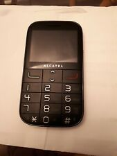 Alcatel 2000x Senior Phone  SOS Button FM Radio Big Buttons