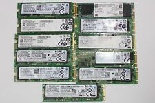 Various 256GB m.2 SATA SSD Drive Samsung LiteOn Hynix Dell Intel Micron B+M Key