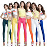 Sexy Women Skinny Stretch Denim Slim High Waist Trousers Jeans Pants Pop Element