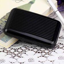 Slim Business ID Credit Card Wallet Holder Aluminum Metal Pocket Case Box PursBG
