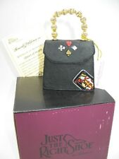 Just The Right Shoe Raine Willittis Designs Queen of Hearts Matching Purse Nib