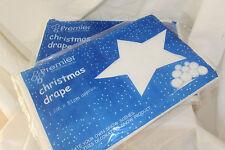 Decorazione di Natale - 2 X NATALE NEVE Drappo per creare e decorare le scene di neve