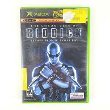 The Chronicles of Riddick Escape From Butcher Bay (Microsoft Xbox, 2004) Online