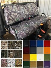 John Deere Gator Bench Seat Covers XUV 825i in BARE TIMBER CAMO  or 25 Colors