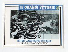 figurina card - CALCIATORI INTER MASTER CARDS  - numero 70 CAMPIONE D'ITALIA