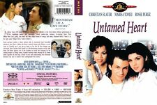 UNTAMED HEART  Christian Slater - NEW DVD Box - FREE Post - mmoetwil@hotmail.com