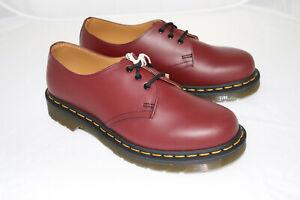 Dr Martens  3-Loch Leder cherry red rot  neu Gr 36 1461 smooth SALE