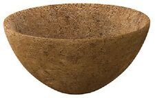 """(3) PANACEA 20"""" ROUND COCO FIBER LINER HANGING BASKET REPLACEMENT LINERS - 87823"""