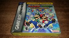 MARIO &LUIGI SUPERSTAR SAGA PLC SUPER STAR NINTENDO GAME BOY ADVANCE NEW SEALED-