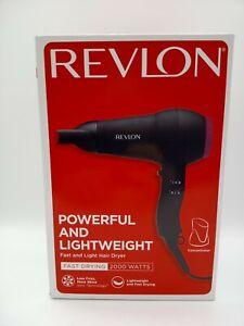 4872 Revlon RVDR5823UK2 Powerful 2000W Compact & Lightweight Hair Dryer