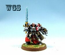 Warhammer40k WGS painted Grey Knights Brother Captain Stern GK004