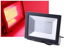LED Flutlichtstrahler 100W rot IP65 Außenstrahler Fluter Flächenstrahler