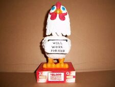 BOBBLEHEAD, MASCOT TROPICANA ATLANTIC CITY $10,000, CASINO CHICKEN CHALLENGE