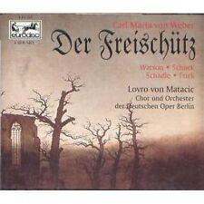 CARL MARIA VON WEBER Der freischutz / Il franco Cacciatore - 2 CD 1995 USATO