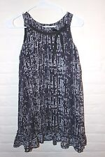 DKNY Girls' 10 Black Polka Dot Silk Party Dance DRESS FROM FRANCE PARTY READY!!