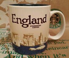 ORIGINALE Starbucks CITY MUG/TAZZA Inghilterra, ver.3, Global Icon, NUOVO CON ADESIVI!