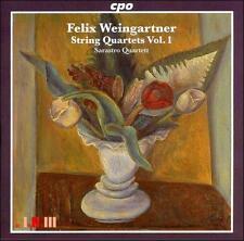 Weingartner: String Quartets Vol. 1, New Music