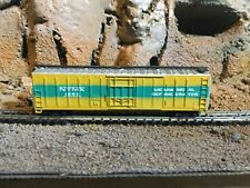 N Scale Atlas 50' mech. Reefer NYMX NEW YORK CENTRAL mtl couplers