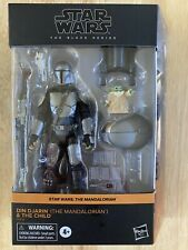 Star Wars Black Series MANDALORIAN Din Djarin and Child Grogu Target Exclusive