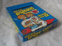 vintage 1975 Topps FAR-OUT IRON ONS Full Box of 24 Unopened NOT TRADING CARDS