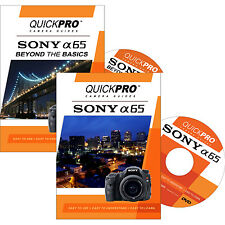 QUICKPro Training DVD Sony A65 Set of 2- >NEW< Free US Shipping