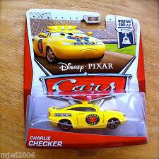 Disney PIXAR Cars CHARLIE CHECKER pace car 2013 PISTON CUP THEME diecast 12/18