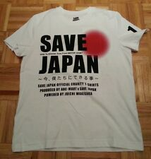 Tsunami SAVE JAPAN Juichi Wakisaka NWT T-SHIRT SM XS TOYOTA SUPRA GT LEXUS 430SC