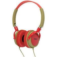 Urbanz Léger DJ Style plein oreille casque rouge