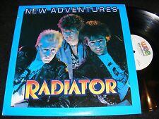 NEW ADVENTURES Original WEA International RADIATOR US Issue DUTCH New Wave LP