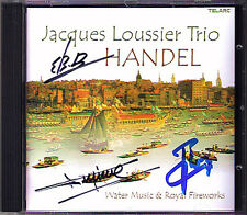 Jacques LOUSSIER Signed HANDEL Water Music Royal Fireworks Passacaglia CD TELARC