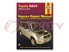 Toyota RAV4 Haynes Repair Manual Base L Sport Limited Shop Service Garage om