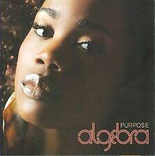 ALGEBRA - Purpose - CD (2008) / Rare & OOP Neo Soul